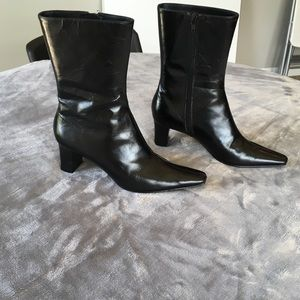 Nine West Black Mid-Calf Pointed Boots (NEW)
